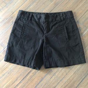 Ann Taylor Loft size 0 black shorts